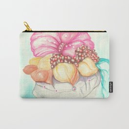 Tropical Fruit Bouquet Painting Carry-All Pouch