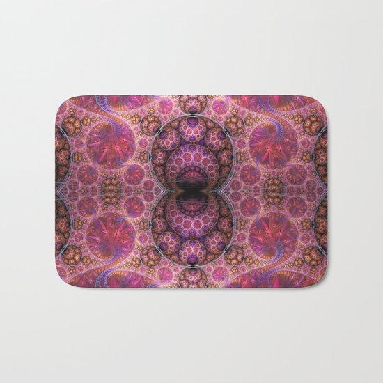 Decorative artwork with amazing curls, swirls and patterns Bath Mat