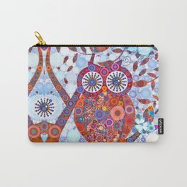 If Klimt Painted An Owl :) Owls are darling birds! Carry-All Pouch