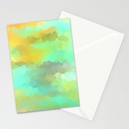 Sunset Water Stationery Cards