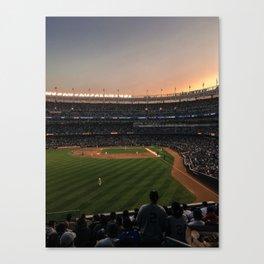 America's Pastime Canvas Print