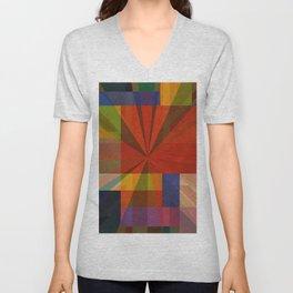 Rainbow Union ONE Unisex V-Neck