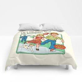 Let's Run Away Comforters