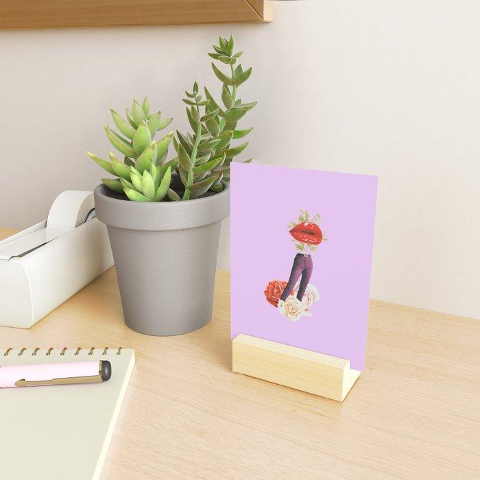 Mucho mistrust Mini Art Print