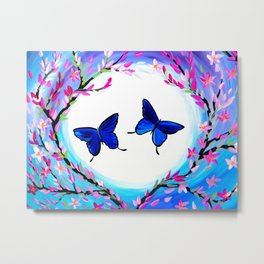 Butterfly Print Metal Print