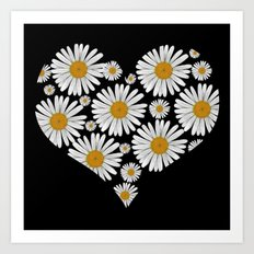 Daisy Love Art Print