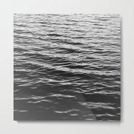 Grain over calm water Metal Print