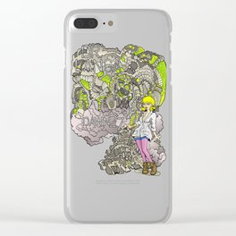 Dr. Langa's Laboratory: Ms.Elaine Clear iPhone Case