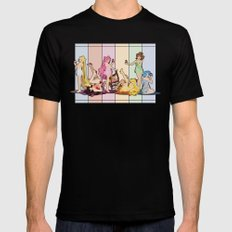 Sailor Moon Pinup - Cupcakes Mens Fitted Tee Black MEDIUM