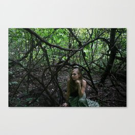 Entangled Thoughts Canvas Print