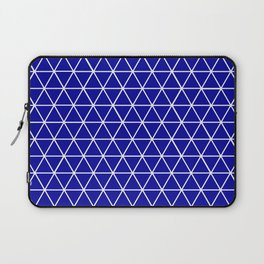 Blue Tile Laptop Sleeve