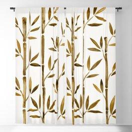 Bamboo – Sepia Blackout Curtain