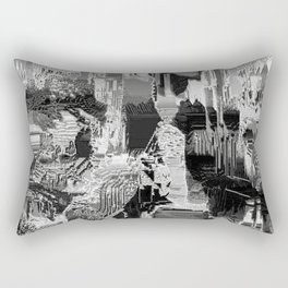 metal canal Rectangular Pillow