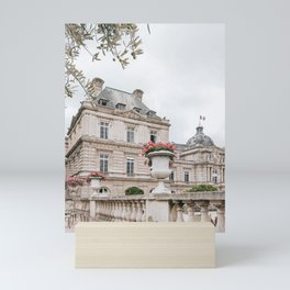 Paris Gardens Architecture Mini Art Print