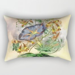 Clarity #watercolor #floral #society6 Rectangular Pillow