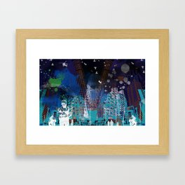 A tale of two cities 2 Framed Art Print
