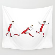 0 to 60 in under 3...goal! Wall Tapestry