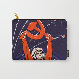 Soviet Propaganda. Yuri Gagarin Carry-All Pouch