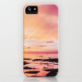 Maldivian sunset 4 iPhone Case