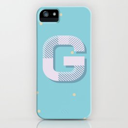 G is for Glamorous iPhone Case