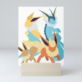 .:Kanto Trio:. Mini Art Print