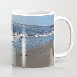 Black sand beach, El Salvador 2 Coffee Mug