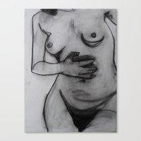 body Canvas Prints featuring Body  by Ozymandia Studios