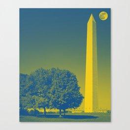 The Washington Monument in Washington, D.C. Original image from Carol M. Highsmith v6 Canvas Print