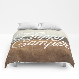 HAPPY CAMPER Comforters