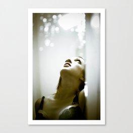 Miss Emma Worton - Dark Beauty Canvas Print