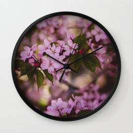 Beauty of Spring IV Wall Clock