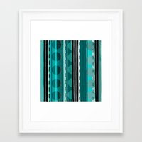 road Framed Art Prints featuring Road by JuniqueStudio