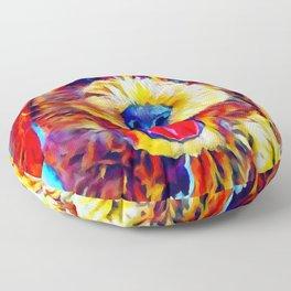 Goldendoodle 2 Floor Pillow