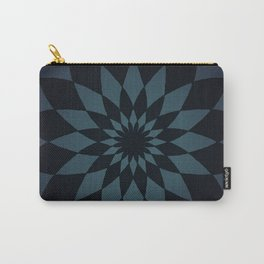 Wonderland Floor in Muted Rain Colors Carry-All Pouch