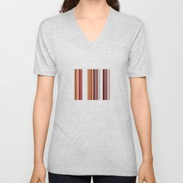 Coffee Color Unisex V-Neck