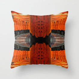 RedKyoto Throw Pillow