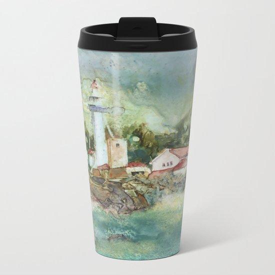 Whitefish Point Metal Travel Mug