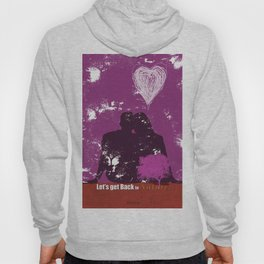 Let's get back to nature-Love. Hoody