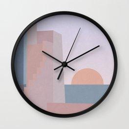 Spanish Sunset Wall Clock