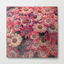 Flower carpet(51). Metal Print