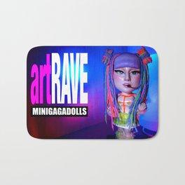 artRAVE ARTPOP ball collection rainbow dreadlocks Bath Mat