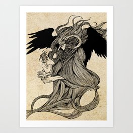 Morpheus Art Print