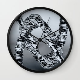 Water Photography - Shapes Wall Clock