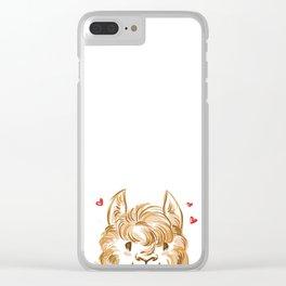 Alpaca love <3 Clear iPhone Case