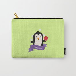 Penguin table tennis from BUENOS AIRES T-Shirt Carry-All Pouch