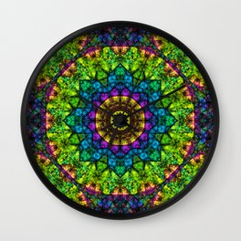 kaleidoscope Crystal Abstract G50 Wall Clock