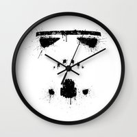 storm trooper Wall Clocks featuring Trooper by Mikko