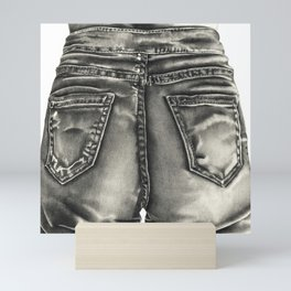 Jeans Mini Art Print