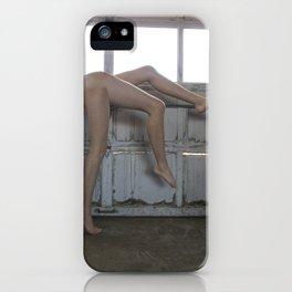 three legged dance iPhone Case