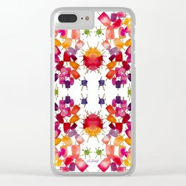 POPSICLES FOR SPRING Clear iPhone Case